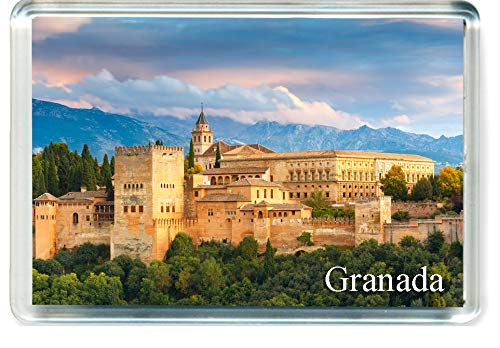 GIFTSTICY H259 Granada Imán para Nevera Spain Travel Fridge Magnet ...