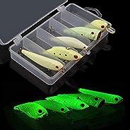 Glow Fishing Lures Bait Luminous Artificial Lure Bait VIB Popper Crank Minnow Pencil Hard Bait for Bass Walley