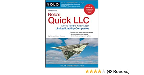 Nolo S Quick Llc All You Need To Know About Limited Liability