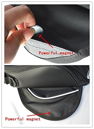 Motorcycle Accessories Tank Bag Magnet Pack MotoGear With Clear Window For GPS Or Cell Phone Waterproof Bag For Yamaha FZ6 FAZER 2004-2010