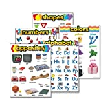 Wholesale CASE of 20 - Trend Kindergarten Learning Chart-Learning Chart Combo Pack, Kindergarten, Multi