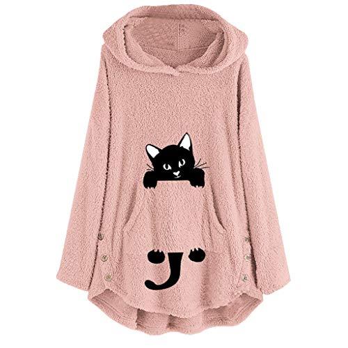 Goku Cat Halloween Costumes - 2019 Winter Warm Outwear,Chaofanjiancai Women's Fleece