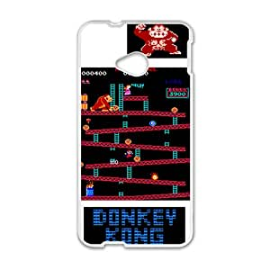 Donkey Kong Game White HTC M7 case