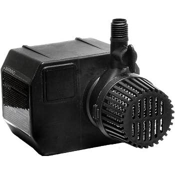 Beckett g535ag 535 gph submersible pump for Small pond pump