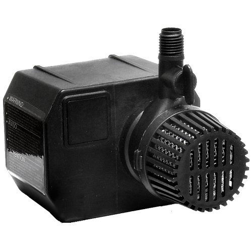 Beckett Corporation 355 GPH Submersible Pond Pump - Water Pump for Ponds, Fountains, Fish Tanks, and Aquariums - 12.2