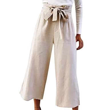 Hosen Hose Weite Ouneed Damen Paperbag Hose ElegantDamen 4Aj3q5LR