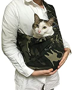 Amazon.com : Foldable Pet Dog Cat Carrier Sling Bag with