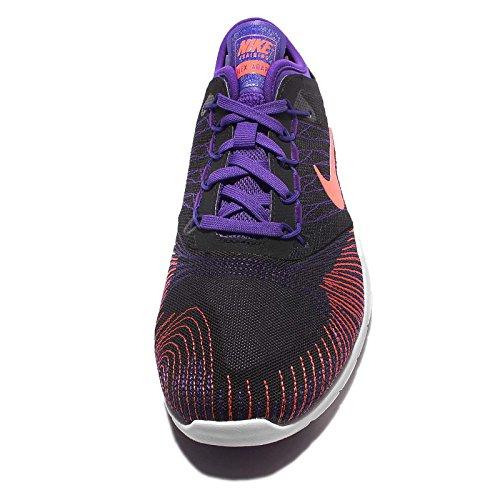 Nike Kvinders Flex Tilpasse Tr Cross Trainer Sko Sort Lyse Mango 005 4EdblSHQ