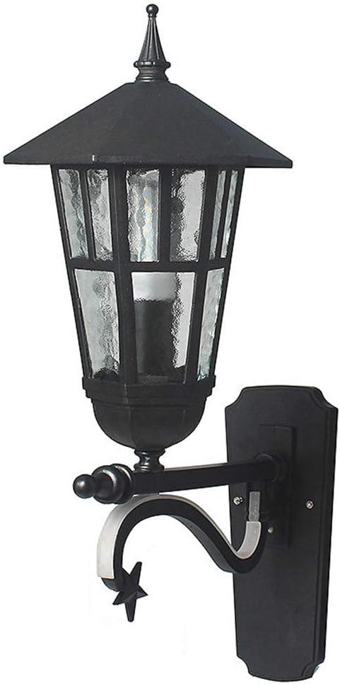 天井照明 シンプルな防水LED屋外の壁ランプ回廊ウォールガーデン照明25 * 48 * 51センチメートル JFYJP