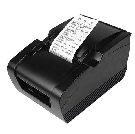 QIONGQIONG Portátil Mini 58Mmthermal Impresora USB Bluetooth ...