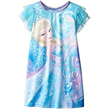 Disney Big Girls' Frozen Elsa Snow Queen Nightgown