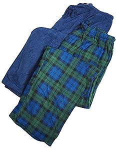 Hanes - Mens 2 Pack Micro Fleece Lounge Pant