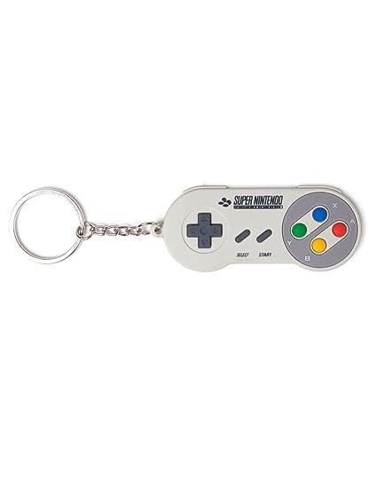 Nintendo Llavero, Gris (Gris) - BIO-KE020310NTN