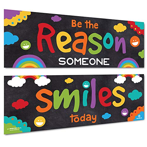 Sproutbrite Classroom Decorations - Banner Posters for Teachers - Bulletin Board and Wall Decor for Pre School, Elementary and Middle School