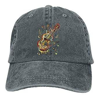 Amazon.com: Unisex Cowboy Baseball Caps Creative Music