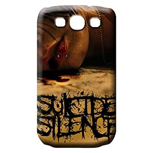 samsung galaxy s3 Hot phone carrying covers Scratch-proof Protection Cases Covers covers suicide silence