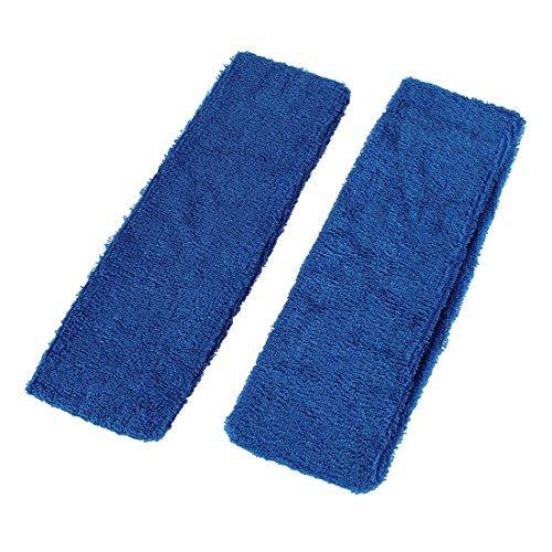 Bandeau Terry (2 pièces bleu foncé Terry exercice athlète Bandeau Pour Lady)