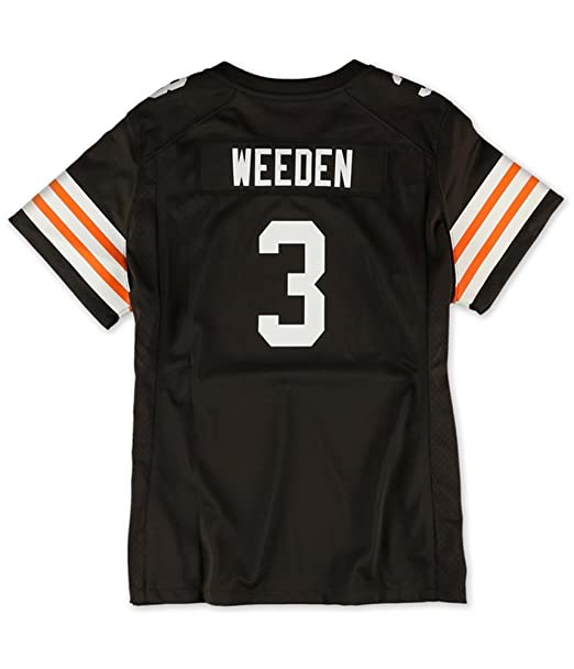 33dc1e72 Amazon.com : Nike Womens Cleveland Browns Weeden Jersey 245 XL ...