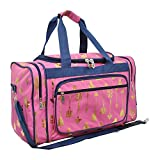Gold Arrow Pink NGIL Canvas Carry on 20'' Duffle Bag