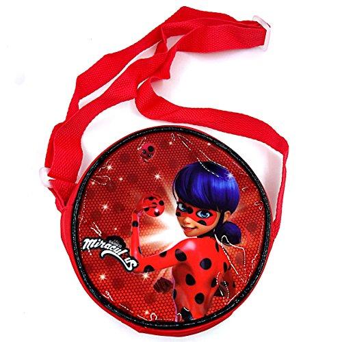 Kid's Cartoon Coin Purse Miraculous Ladybug Satchel Change -