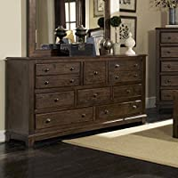 Coaster Home Furnishings 203263 Collection Dresser , Rustic Brown finish