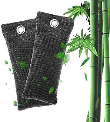 lesgos Ambientador De Carbón Activado de Bambú, Zapatillas ...