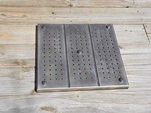 Amazon Com Deck Protect Fire Pit Pad Combo 36 X 36 Fireproof Deck Mat Garden Outdoor