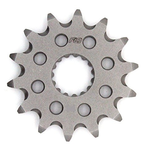 FLO MOTORSPORTS O-RING CHAIN AND SPROCKET COMBO KIT YAMAHA YZ125 / YZ250F 13T FRONT / 48 - 53 TOOTH REAR SPROCKET (49T, BLACK) by Flo Motorsports (Image #3)
