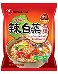 A mixture of fresh vegetables with the fresh taste of sauteed Kimchi makes this convenient bowl noodle soup an instant classic. Kimchi has been growing in popularity on a global scale and may be served with many foods, including Noodles. Ever...