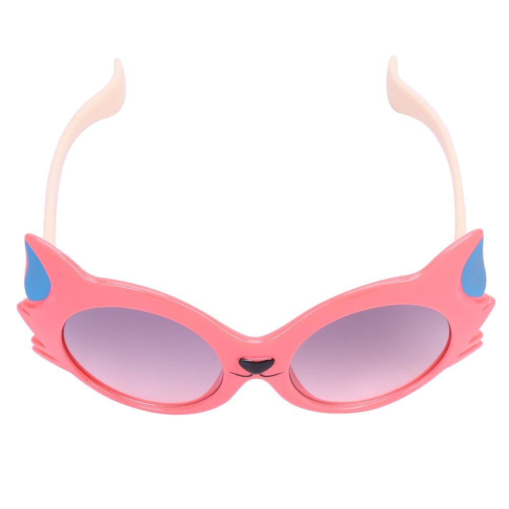 Round Cute Kids Polarized Shade Lens Sun UV Protection Sunglasses for Teens