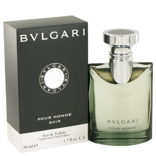Bvlgari Pour Homme Soir by Bvlgari Eau De Toilette Spray 1.7 oz For Men ()