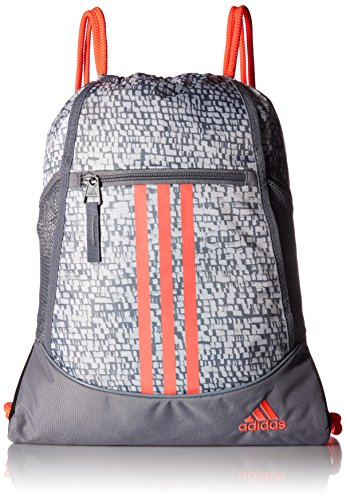 adidas Alliance II sackpack, Red, One Size by adidas