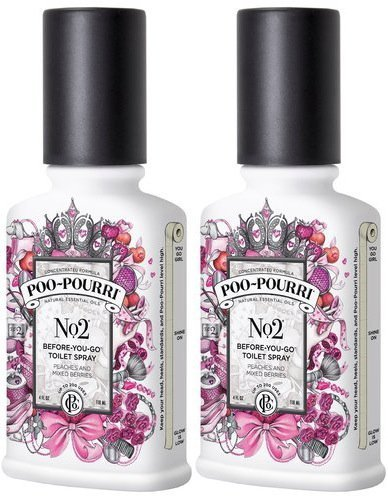 Poo Pourri No. 2 Before You Go Spray 4 oz - 2 Pack