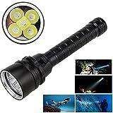 ZeHui 15000LM XML-T6 LED Strong Light Diving Flashlight Torch Underwater Waterproof Light Lantern