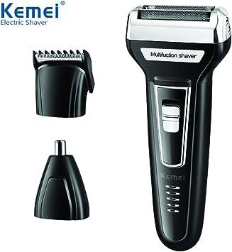 Ocamo Men 3 in 1 Multifunction Hair Trimmer Afeitadora eléctrica ...