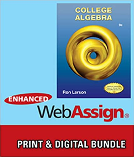 Bundle: College Algebra, 9th + WebAssign Printed Access Card for