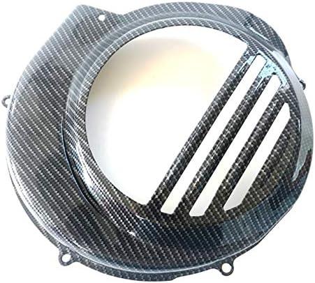Boita 2 0 Lenkrad Abdeckung Aus Eisen Vespa Px Pe Carbon Schwarz Glänzend Kompatibel Mit Vespa Elektrostarter Auto