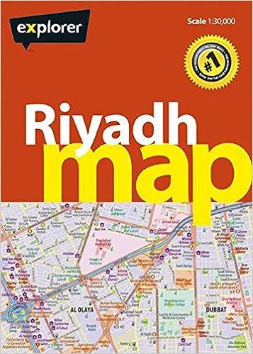 Riyadh Map City Map Explorer Publishing 9789948442561 Amazon