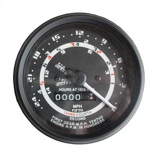 (Tachometer (Proofmeter) Gauge - 5 Speed with Aftermarket Style Needle Ford 651 881 851 861 900 621 2120 2110 700 4140 650 841 4000 NAA 681 941 501 901 821 701 801 800 4130 611 641 600 2000 631 601)