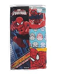 """Spider-Man Little Boys' Toddler """"Web Head"""" 3-Pack Briefs"""