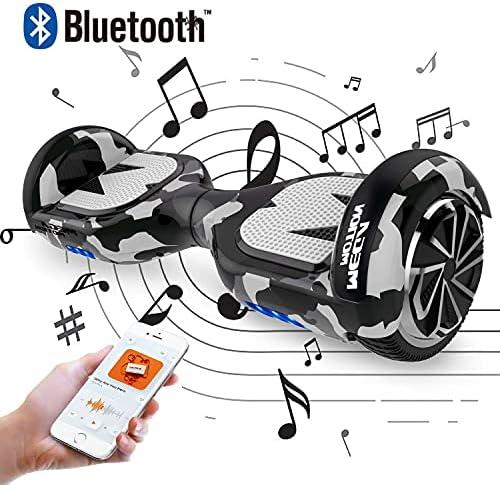 "SOUTHERN-WOLF Hoverboard, Overboard 6,5"" et Hoverboard pour Enfant Auto-équilibré avec LED avec Bluetooth Moteur Puissant Gyropode Intelligent E- Scooter Skateboards"