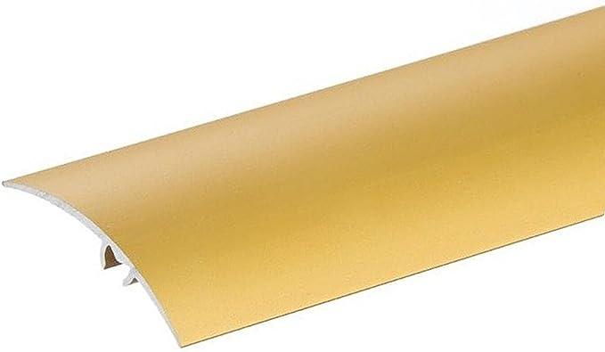 ⭐  en aluminium Dor/é Porte Sol Barres 1/m Barre de seuil pour moquette Profil Coque Transition Trim stratifi/é Carreaux Diff/érentes tailles par TMW Profils