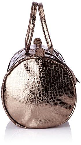 Sous les Pavés Baby Caipirinha Bowlingtasche Or (Python Bronze/Peinte) B7EUVM