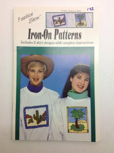 Iron-on Patterns # 57523 Cactus & Palm ( Fashion Show, Plaid ) (patterns)