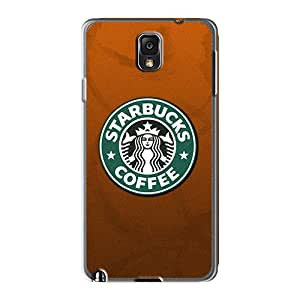 88bestcase Samsung Galaxy Note 3 Shock Absorption Cell-phone Hard Cover Support Personal Customs High-definition Starbucks Coffee Series [kPw1566SVhg]