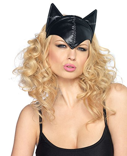 Feline Femme Fatale Cat Mask Costume Accessory -