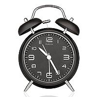 "Peakeep® 4"" Twin Bell Alarm Clock w..."