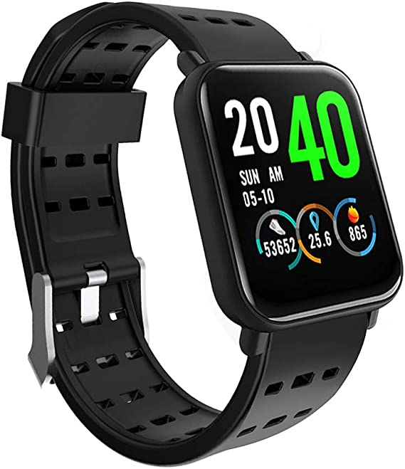 Beauly Smart Watch,Smart Watch for iOS Android Phone Men Women,Bluetooth Smarat Watch FitnessTracker with Heart Rate Monitor Call Reminder Activity ...