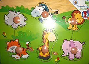 Garanimals Easy Grab Wood Puzzle