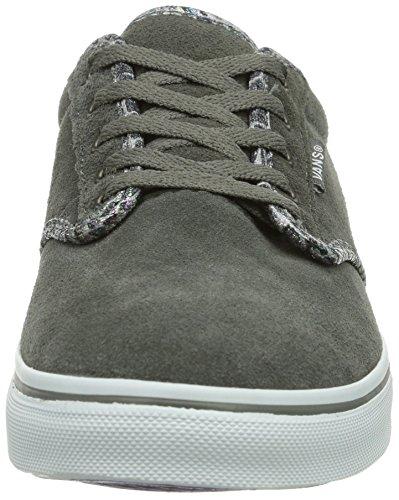 pewter Vans W Snake Grau Sneakers ATWOOD EX1 LOW Damen 0qr0ZU